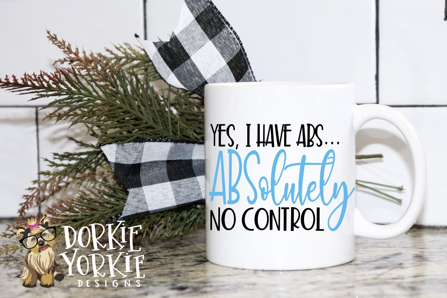 I have ABS - ABSolutely no control - funny - SVG cut file example image 2