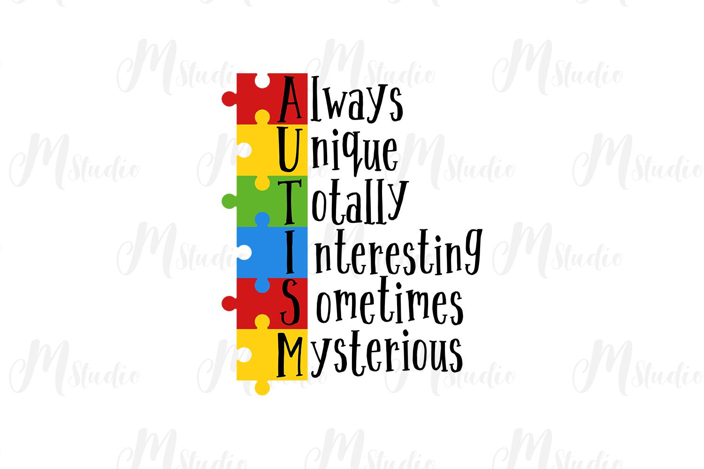 Autism Quotes svg bundle example image 3