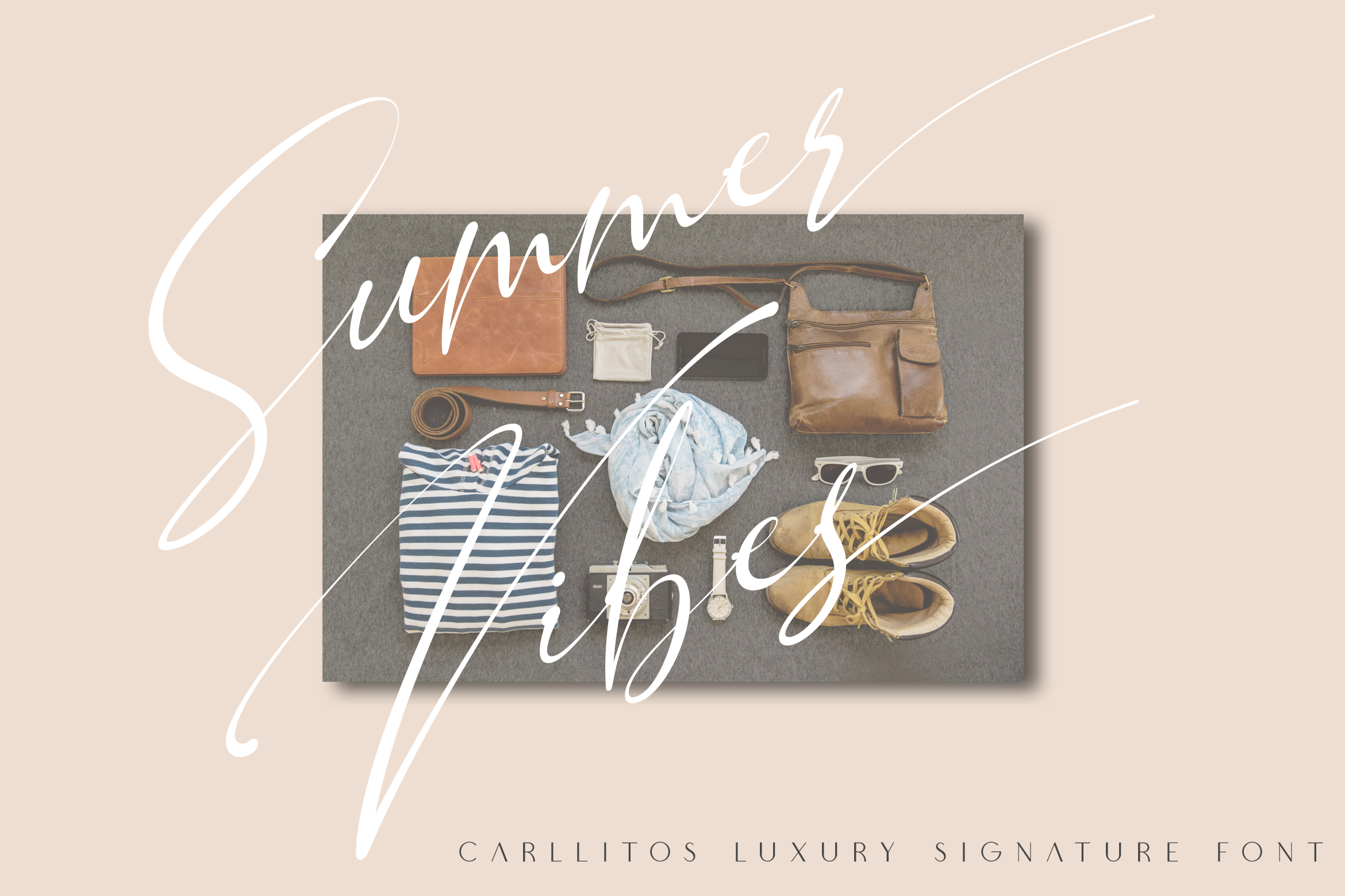 Carllitos // Luxury Signature Font example image 2