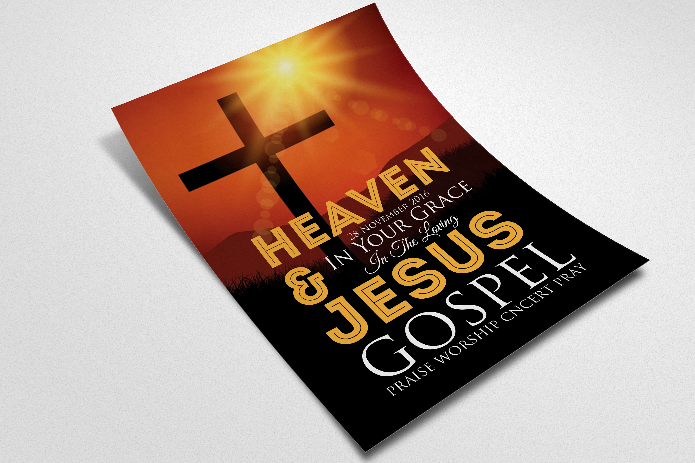 Purpose Church Flyer Template example image 2