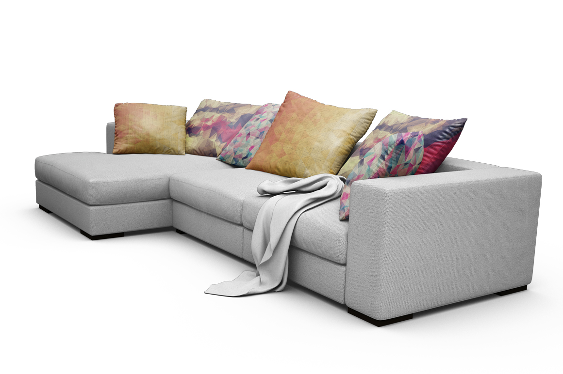 Sofa-Pillows Mockup example image 17