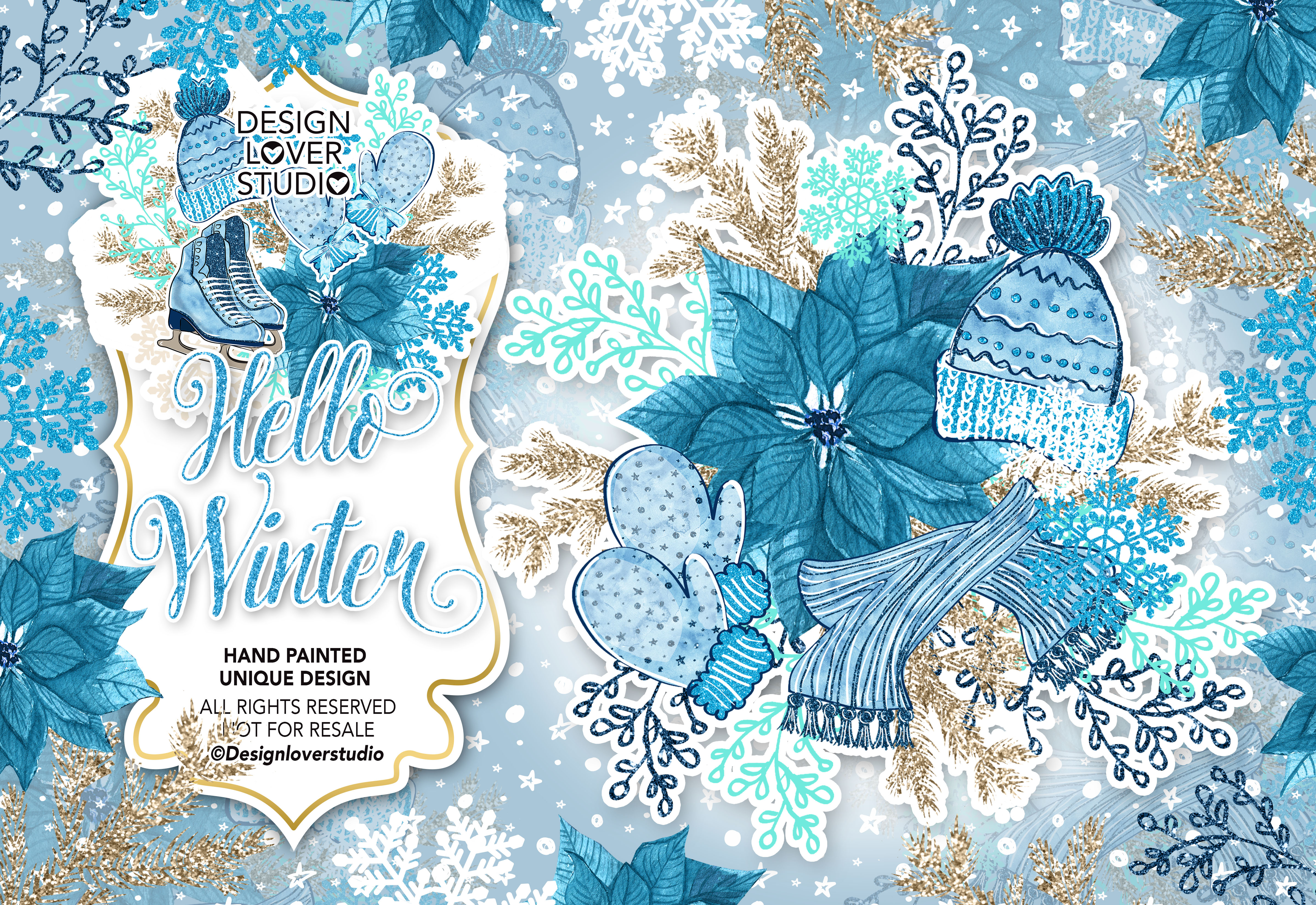 Hello Winter design example image 1