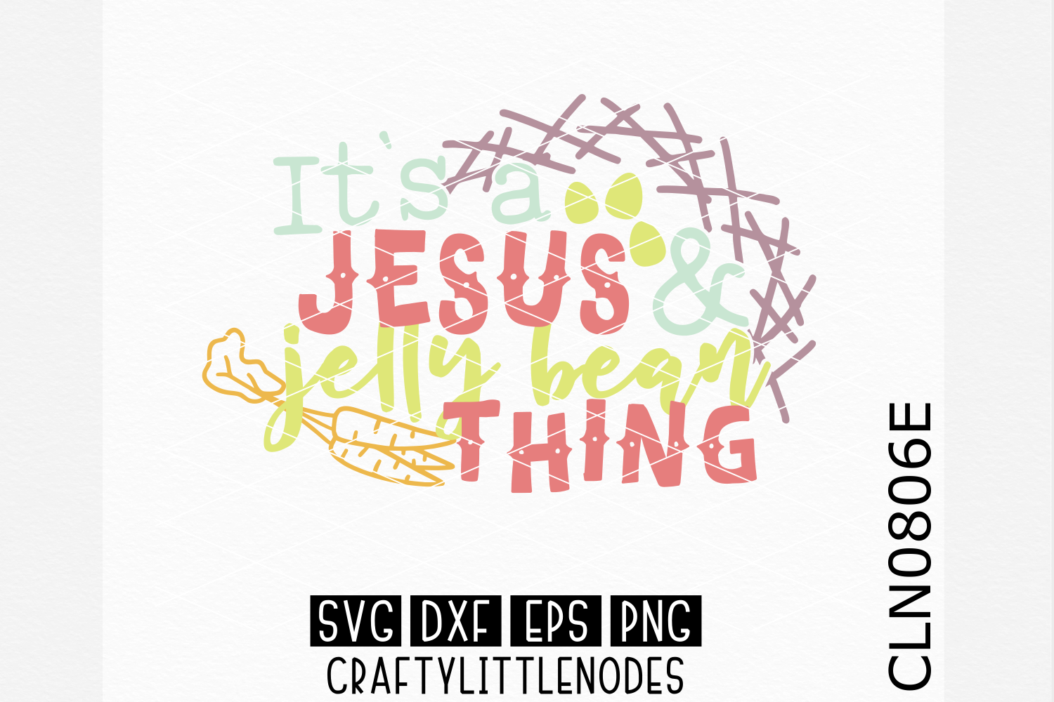 Jesus & Jelly Bean Thing example image 1