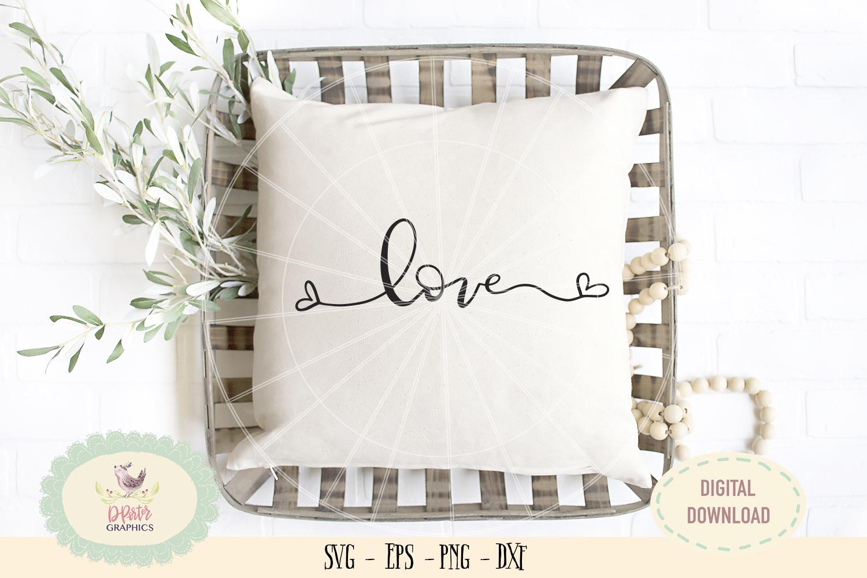 Love heart SVG PNG wedding anniversary valentine bundles example image 2