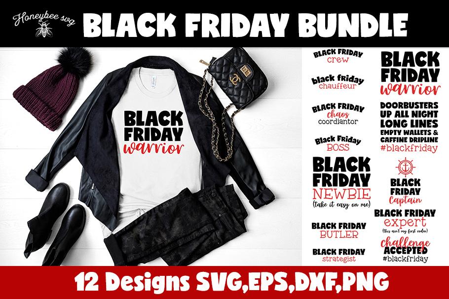 Black Friday Bundle SVG Cut files example image 1