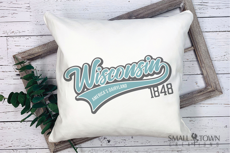 Wisconsin, America's Dairyland, Logo, PRINT, CUT & DESIGN example image 3