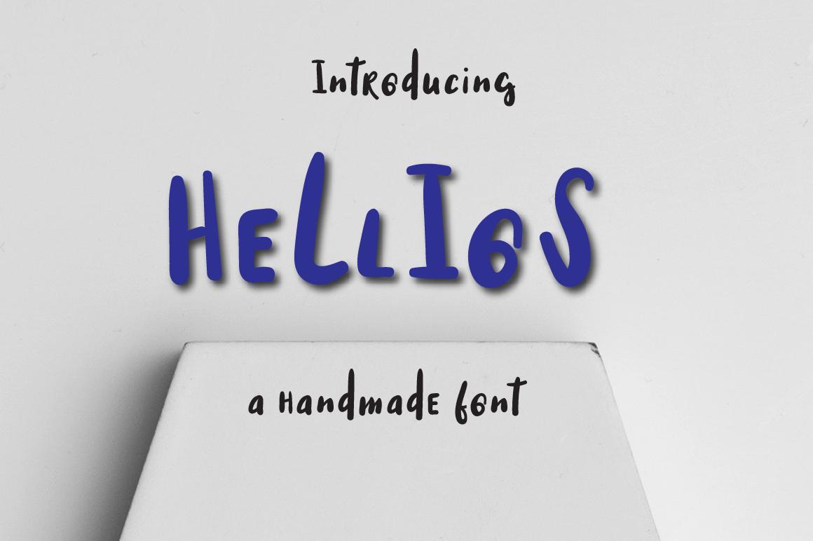 Hellios Typeface example image 1