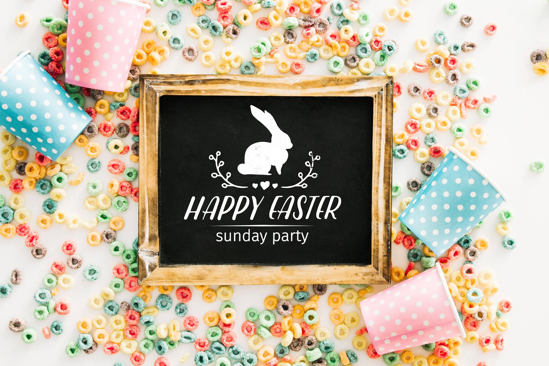 Happy Easter logo set example image 4