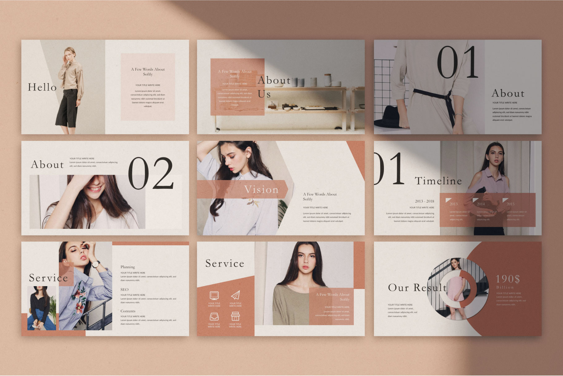 Softly Keynote Template example image 5