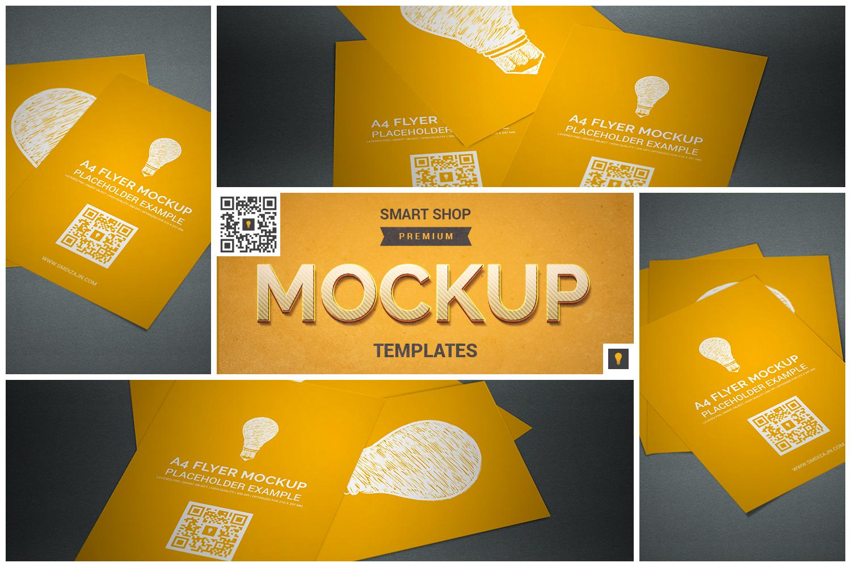 Flyer Mockup Bundle 50% SAVINGS example image 2