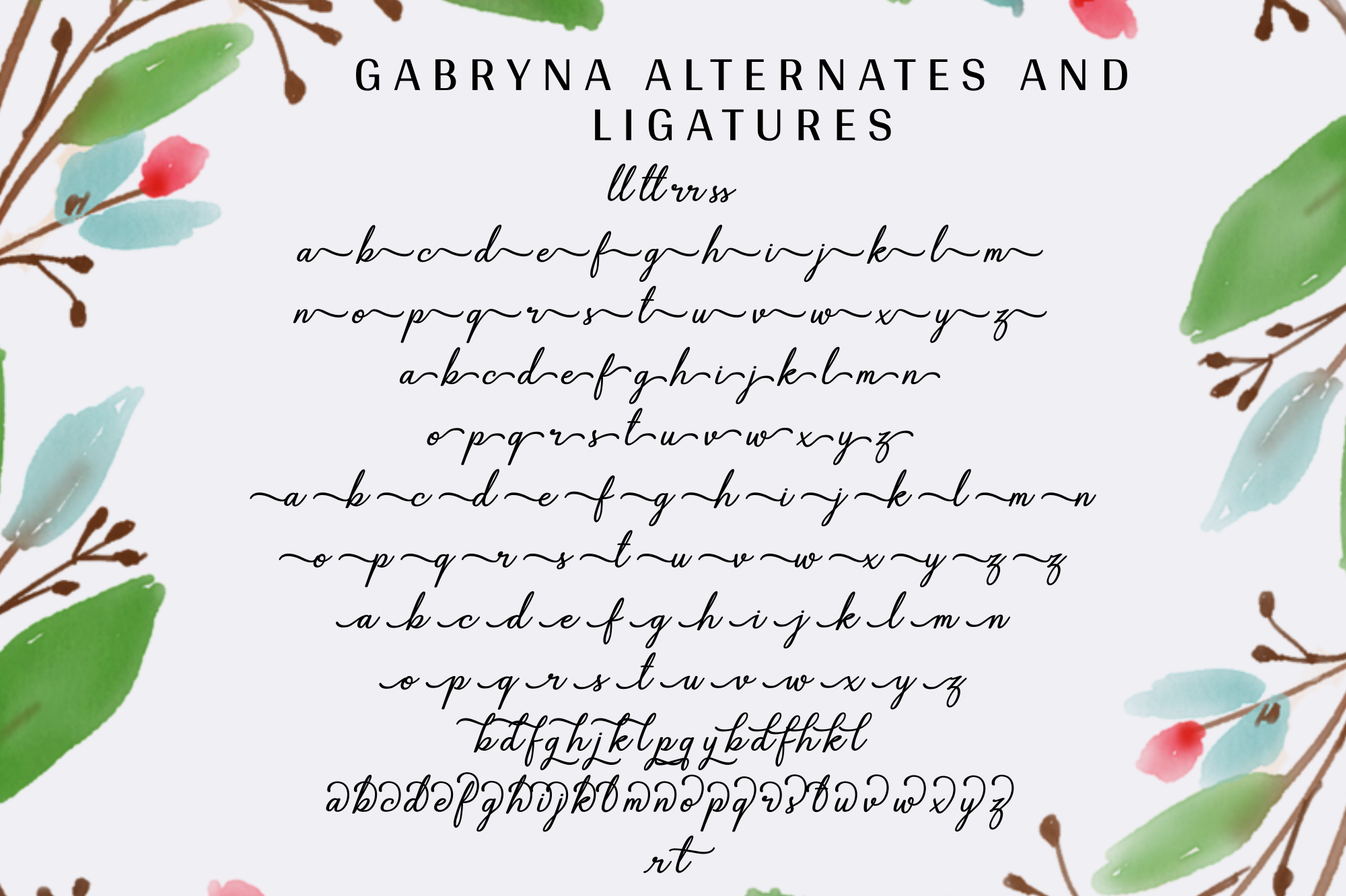 Gabryna Font example image 12
