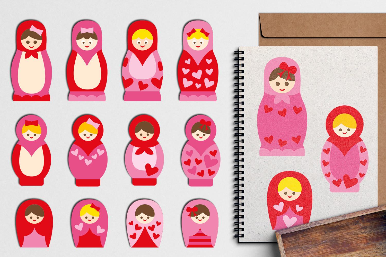 Just For Girls Clip Art Illustrations Huge Bundle example image 23