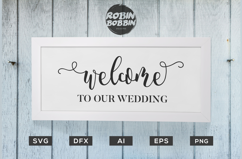 Wedding Bundle 18 Designs SVG Files - Wedding Set SVG EPS AI example image 3