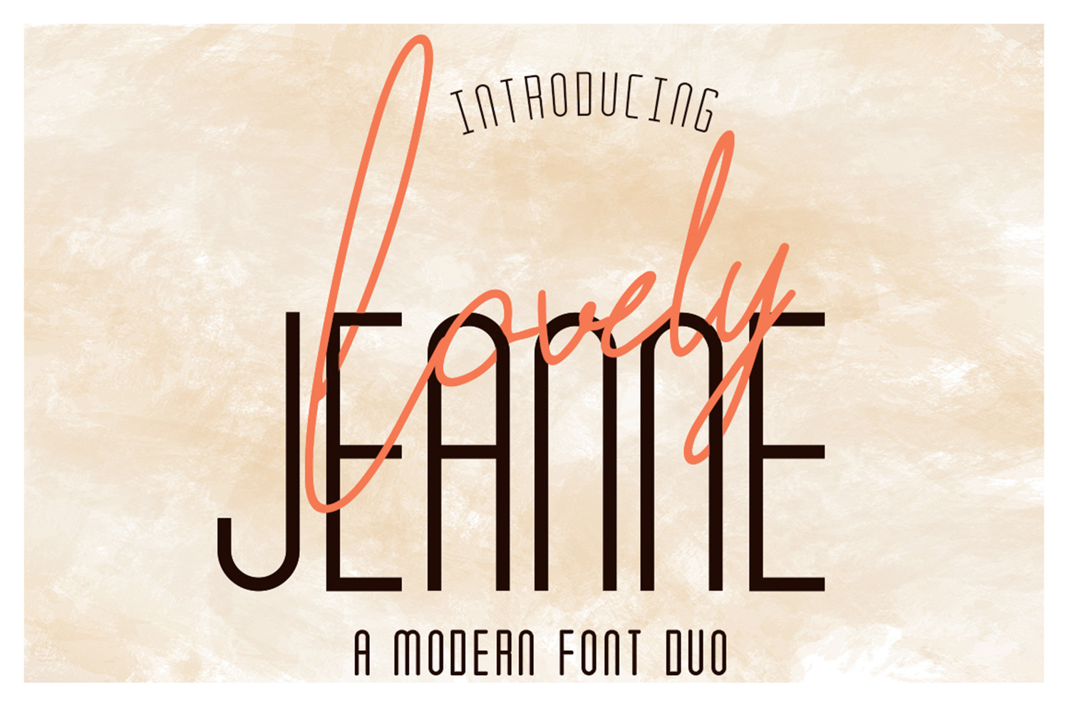 Lovely Jeanne Font Duo example image 1