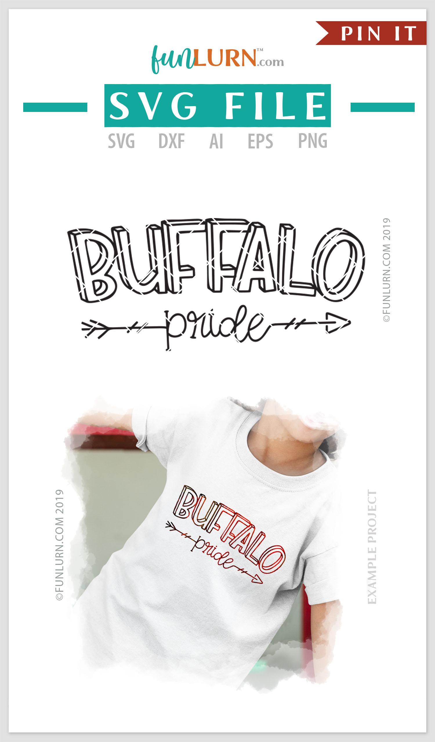 Buffalo Pride Team SVG Cut File example image 4