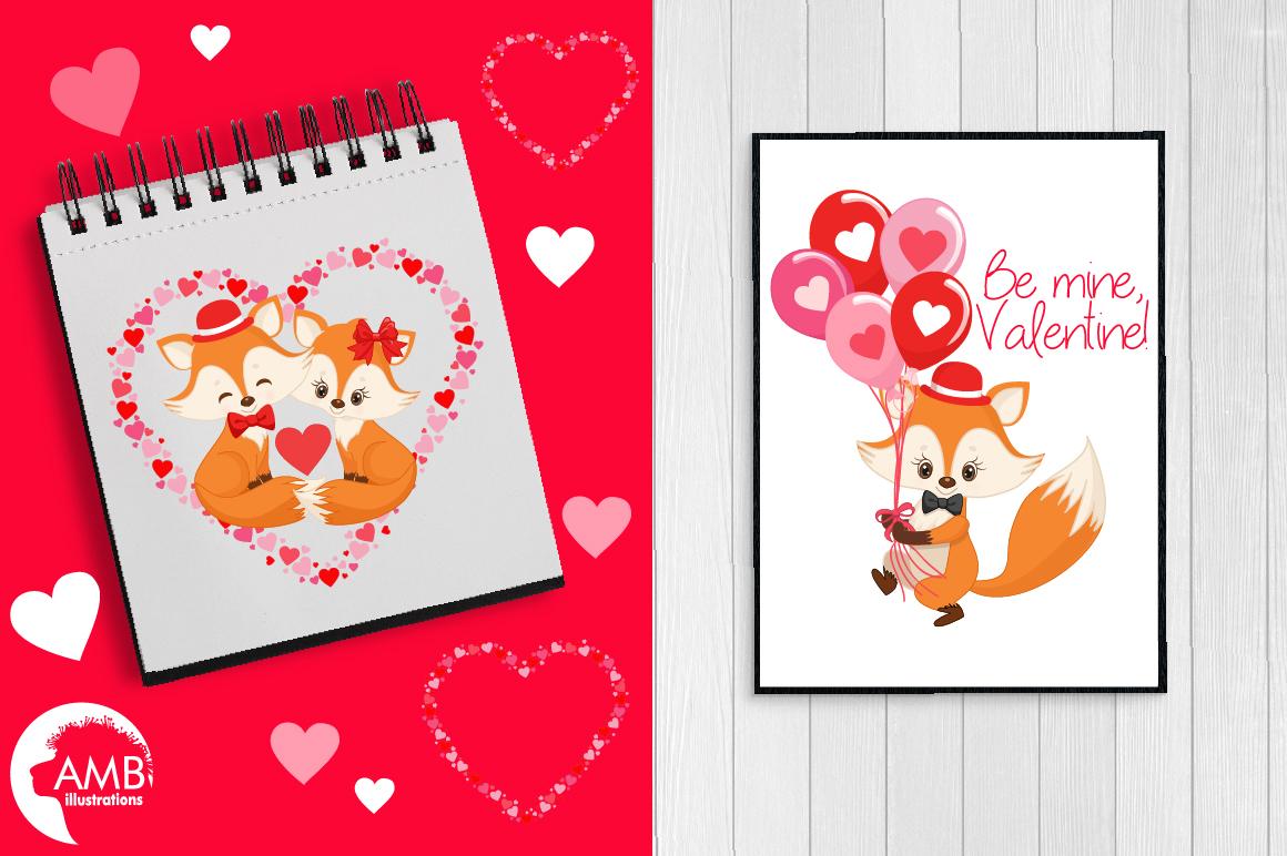Valentine cliparts, graphics, illustrations AMB-1582 example image 5