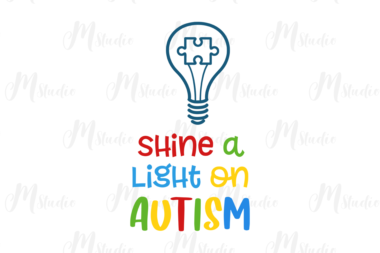 Autism Quotes svg bundle example image 14