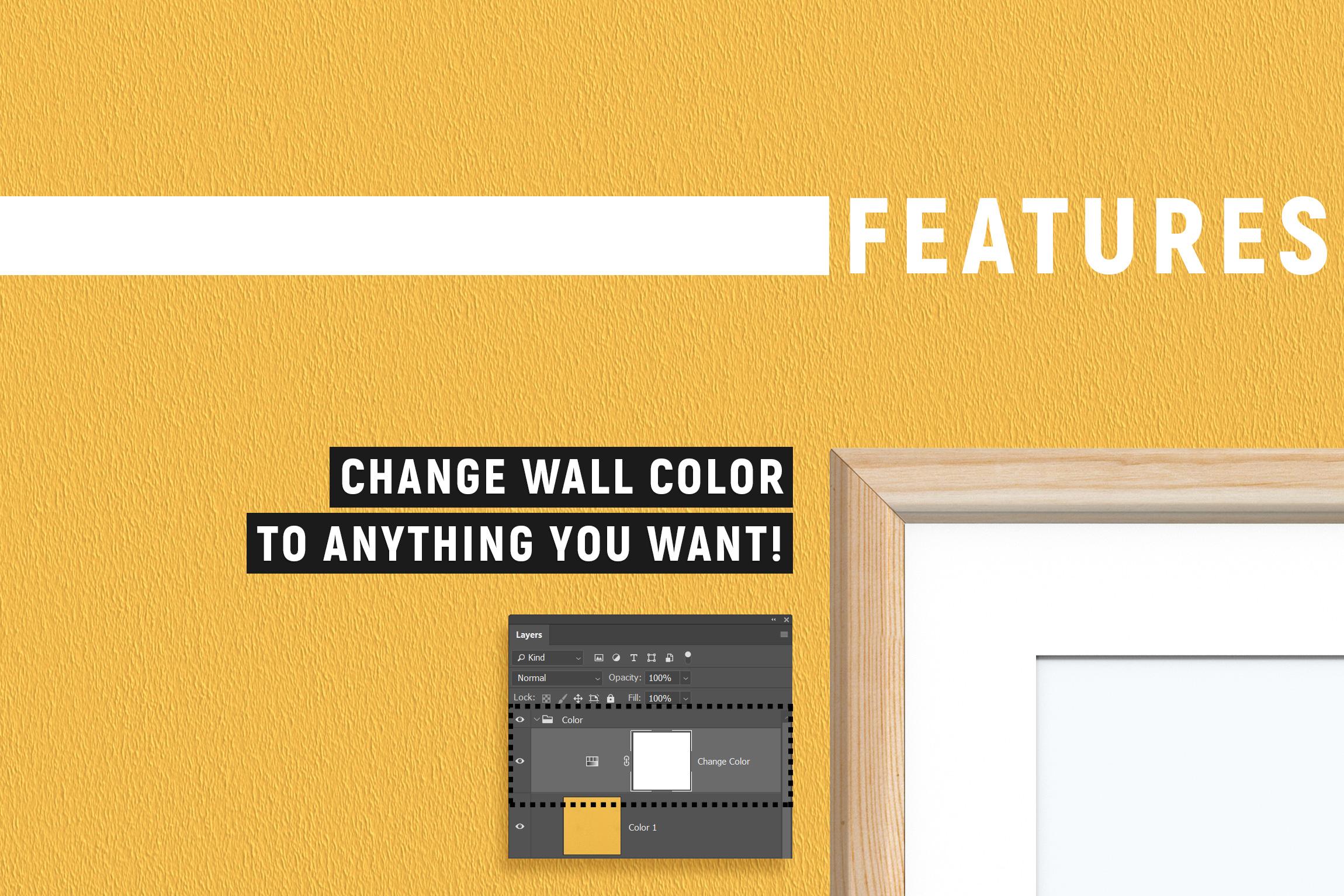 10 Frames & 7 Walls Mockups example image 2