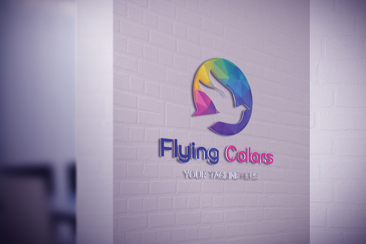 Colorful Flying Dove Bird Logo example image 4