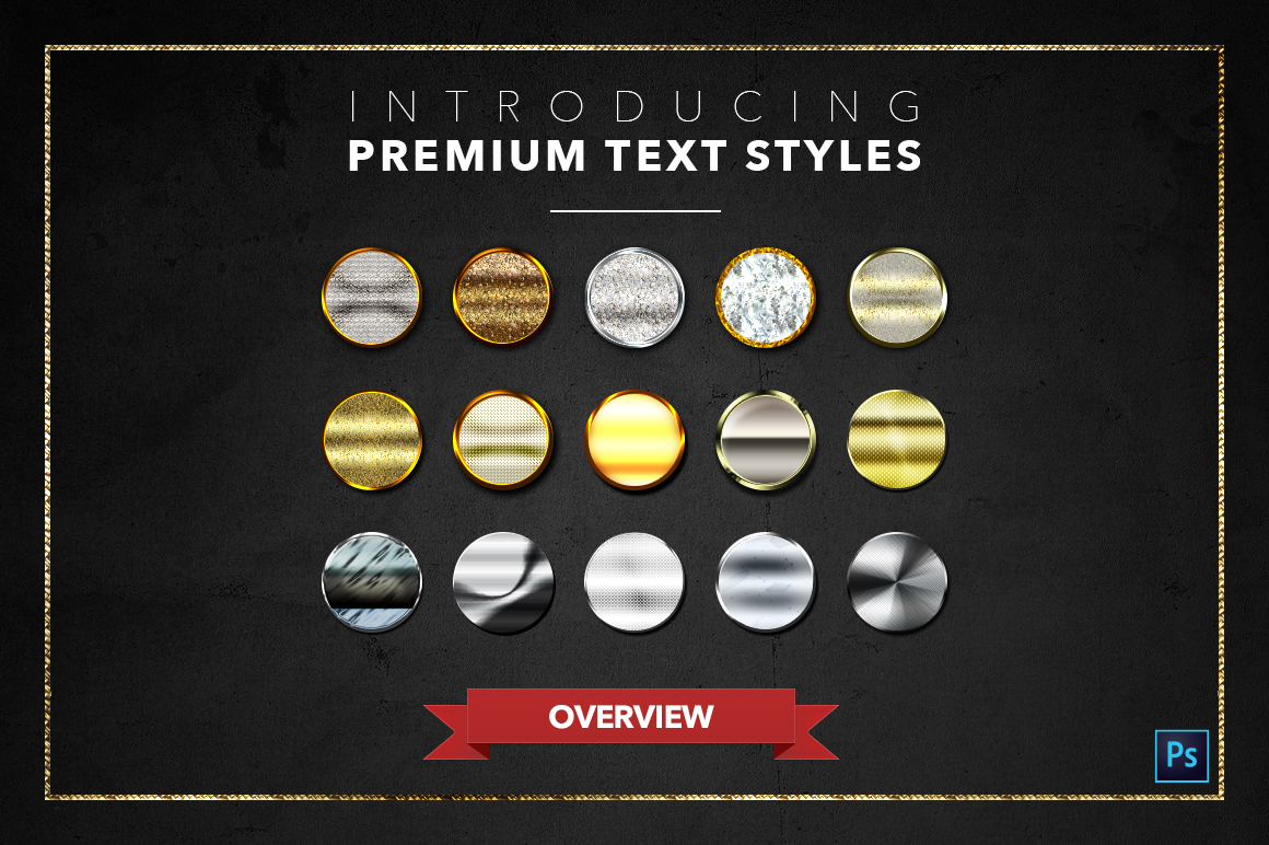 Diamond & Metal #1 - 15 Text Styles example image 18