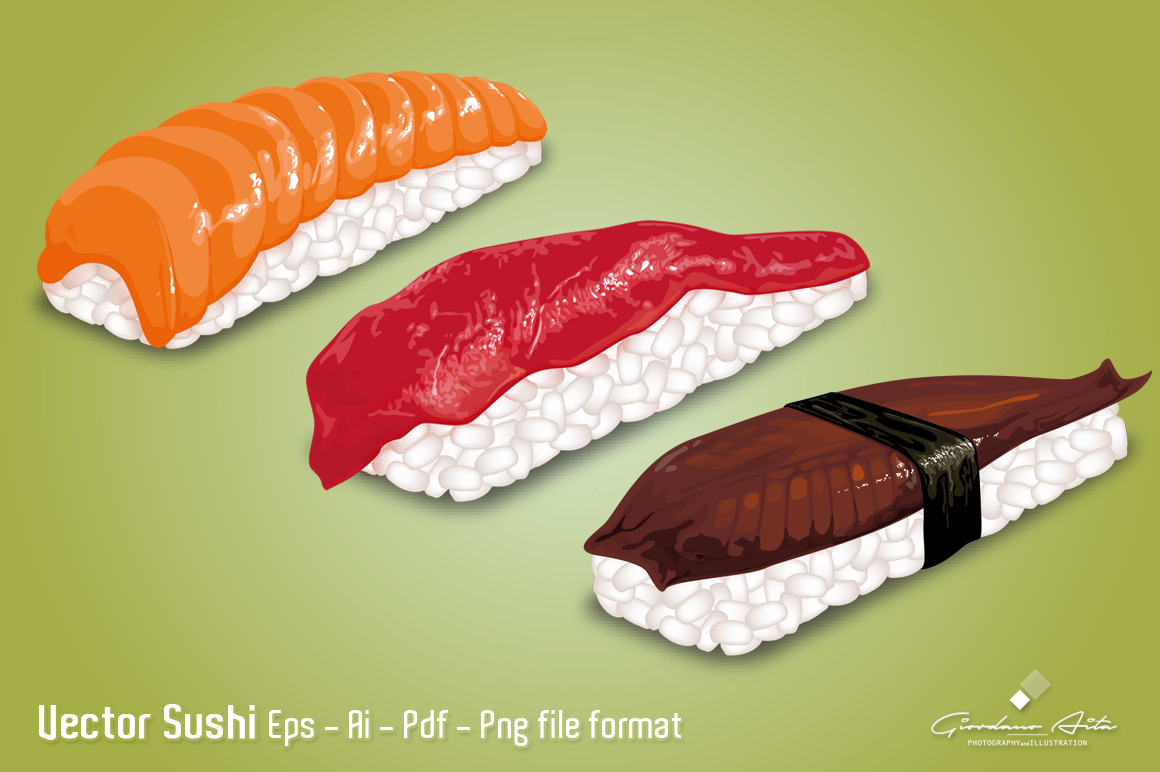 Vector SUSHI example image 1