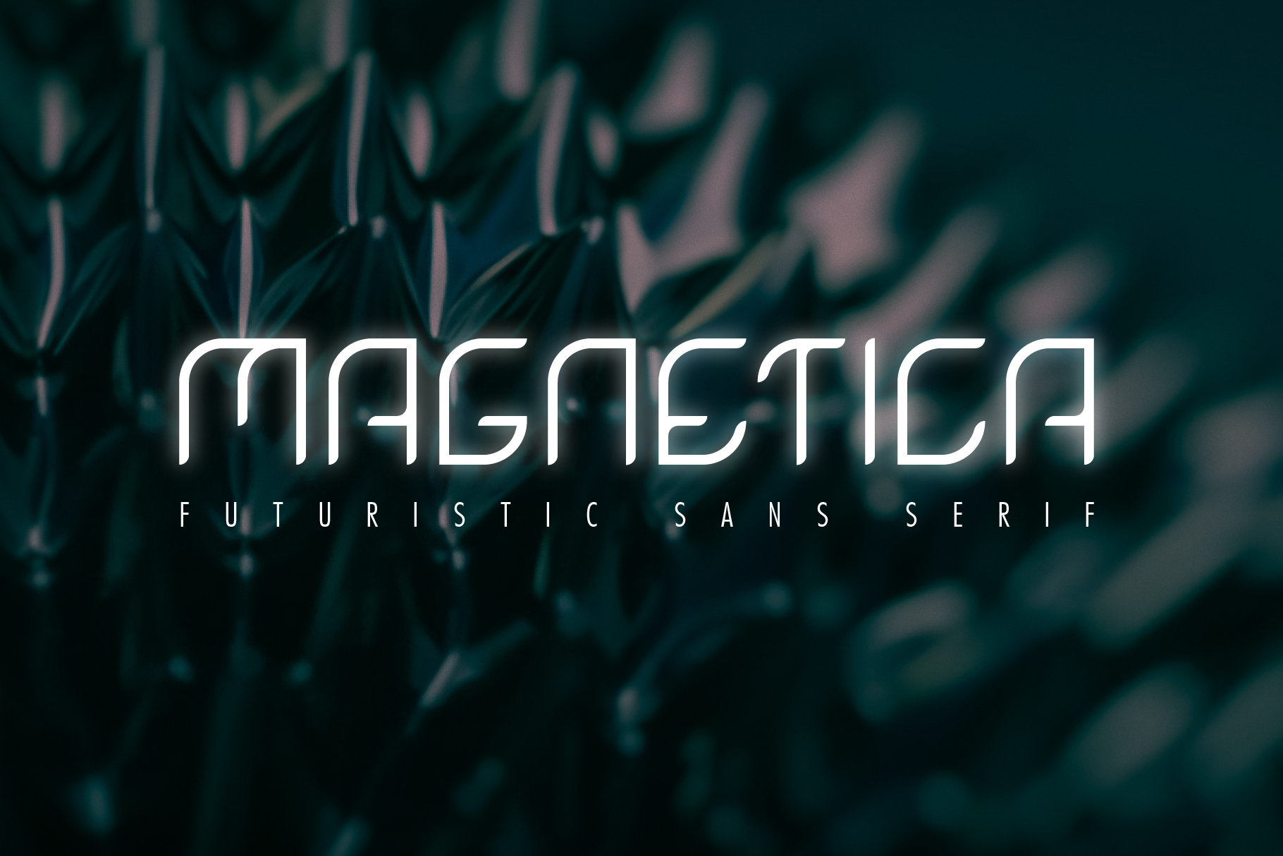 Magnetica Font - Modern Sans Serif example image 1