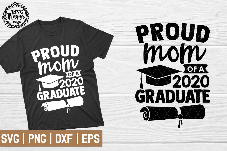 Proud Mom Of A Graduate Svg