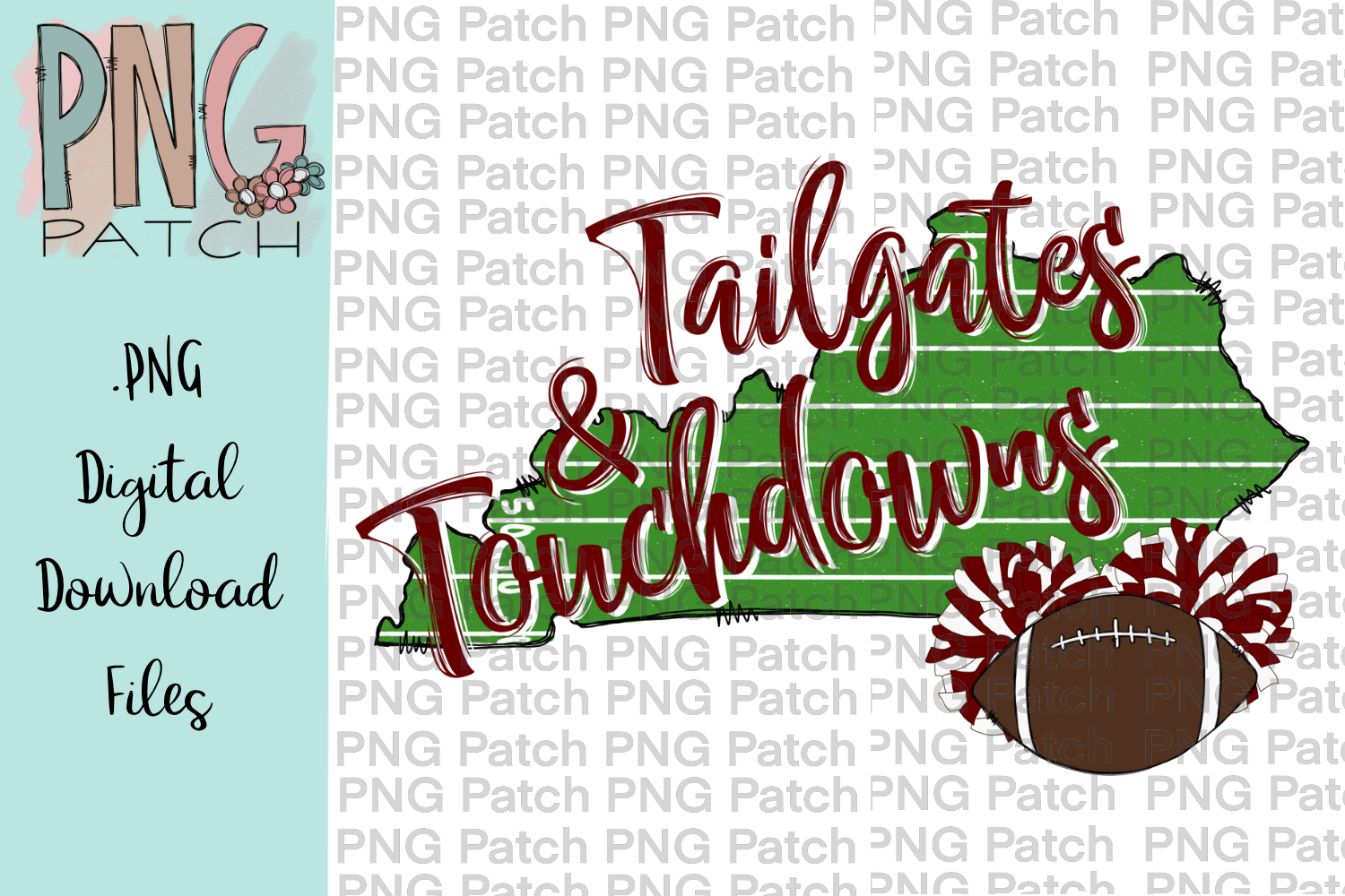 Kentucky Football Background Maroon and White, PNG File example image 1