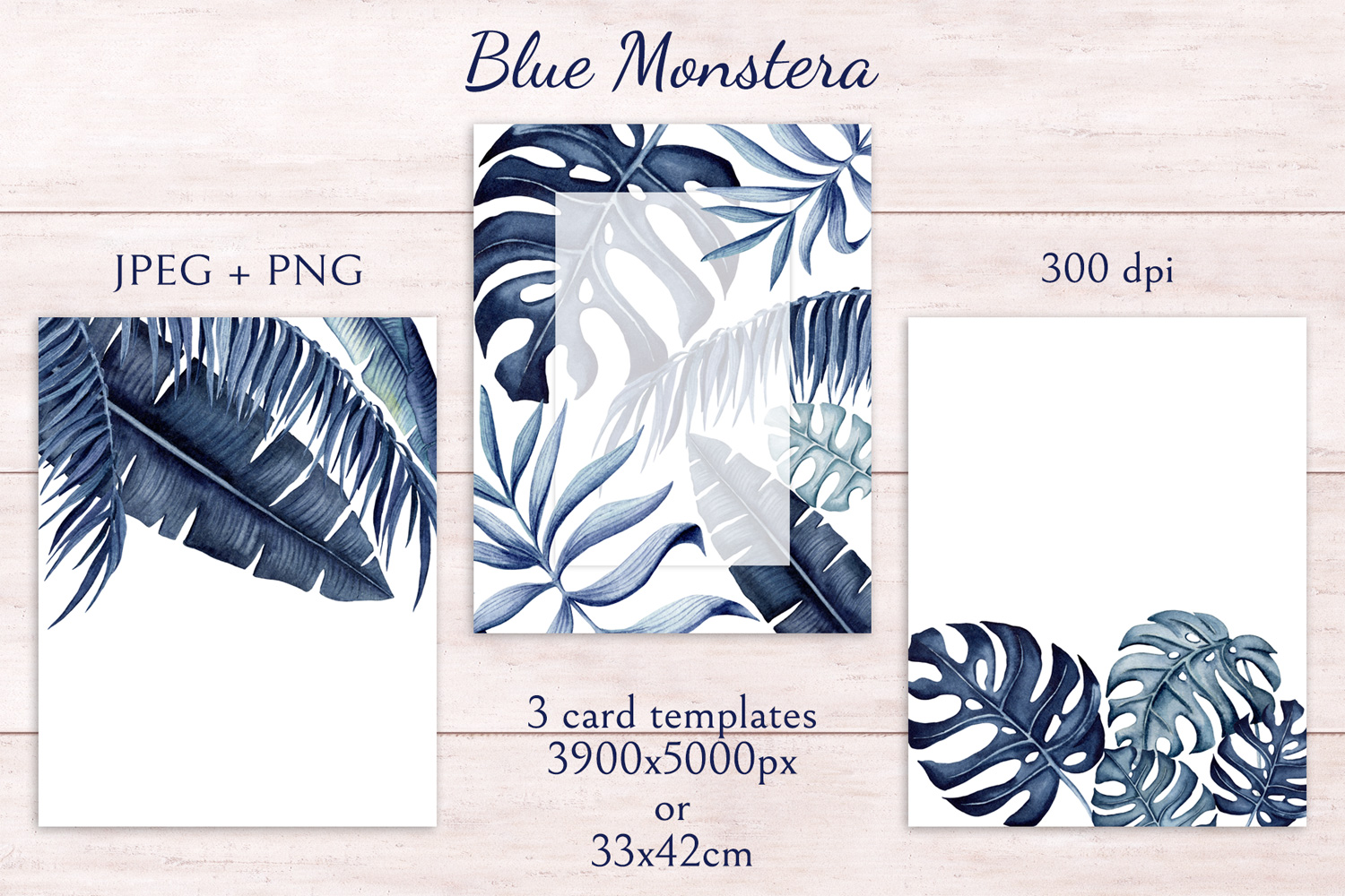 Blue Monstera example image 4