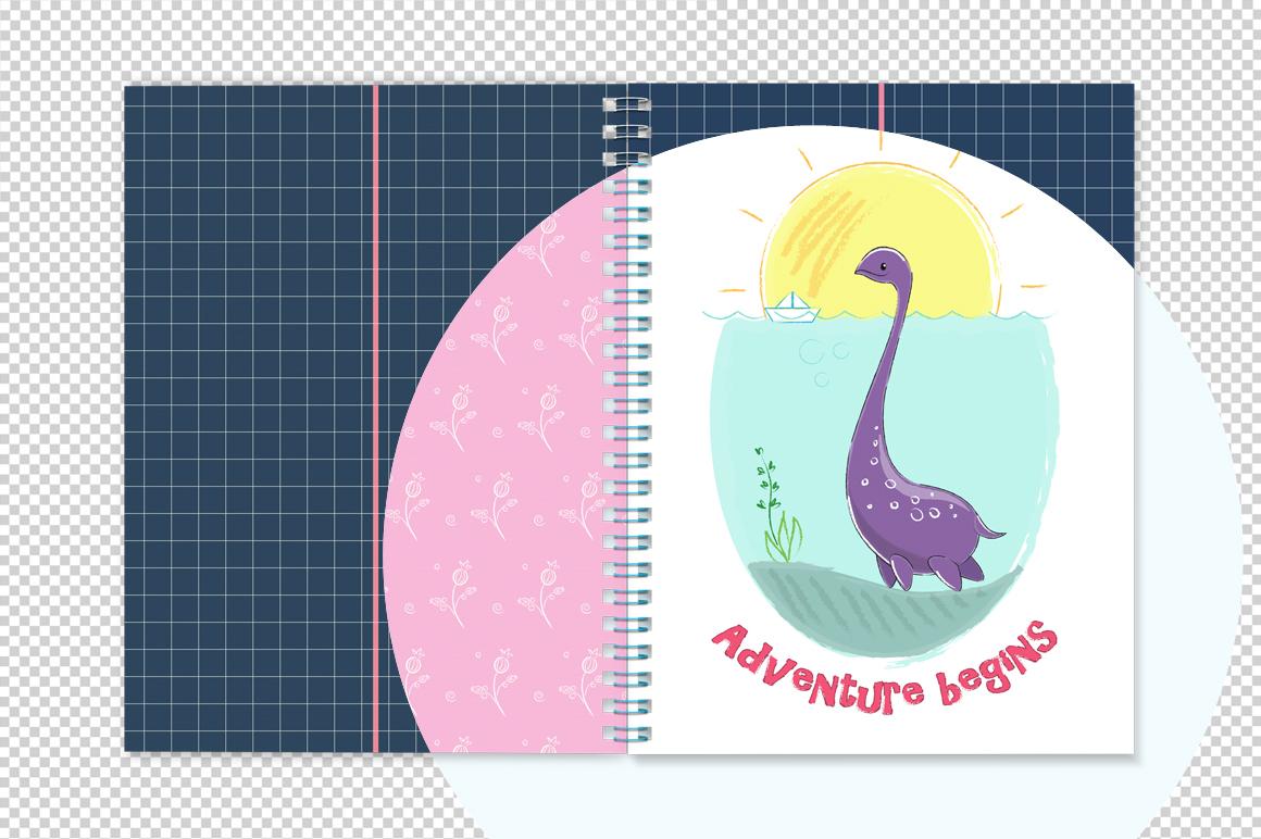 Notebook with spring mockup. Sketchbook mockup. example image 5
