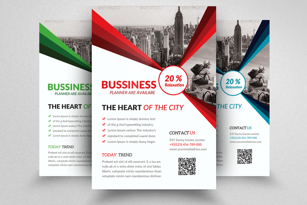 Business Corporate Agency Flyer example image 1
