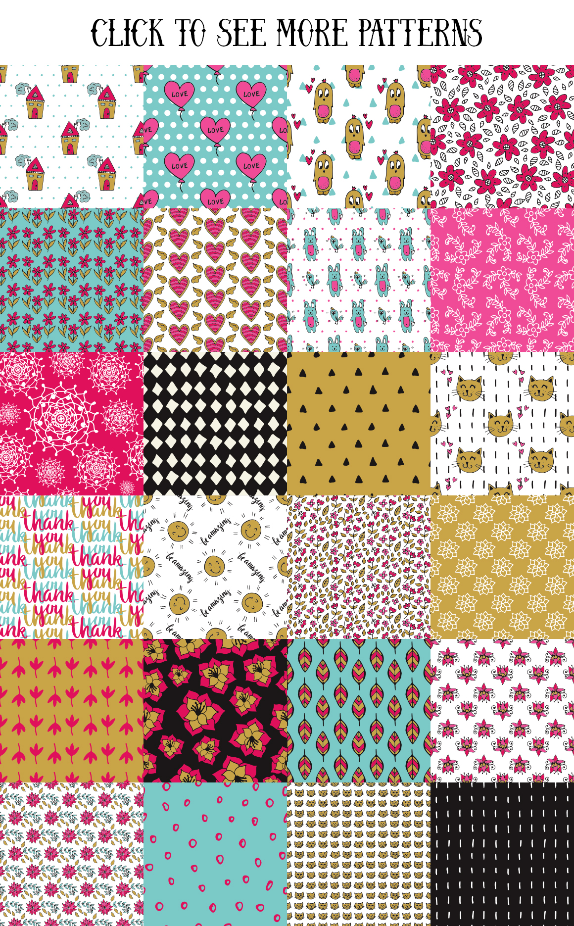 70 Valentine's Day Seamless Patterns example image 2