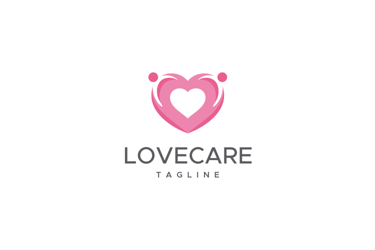 Love Care Logo example image 1