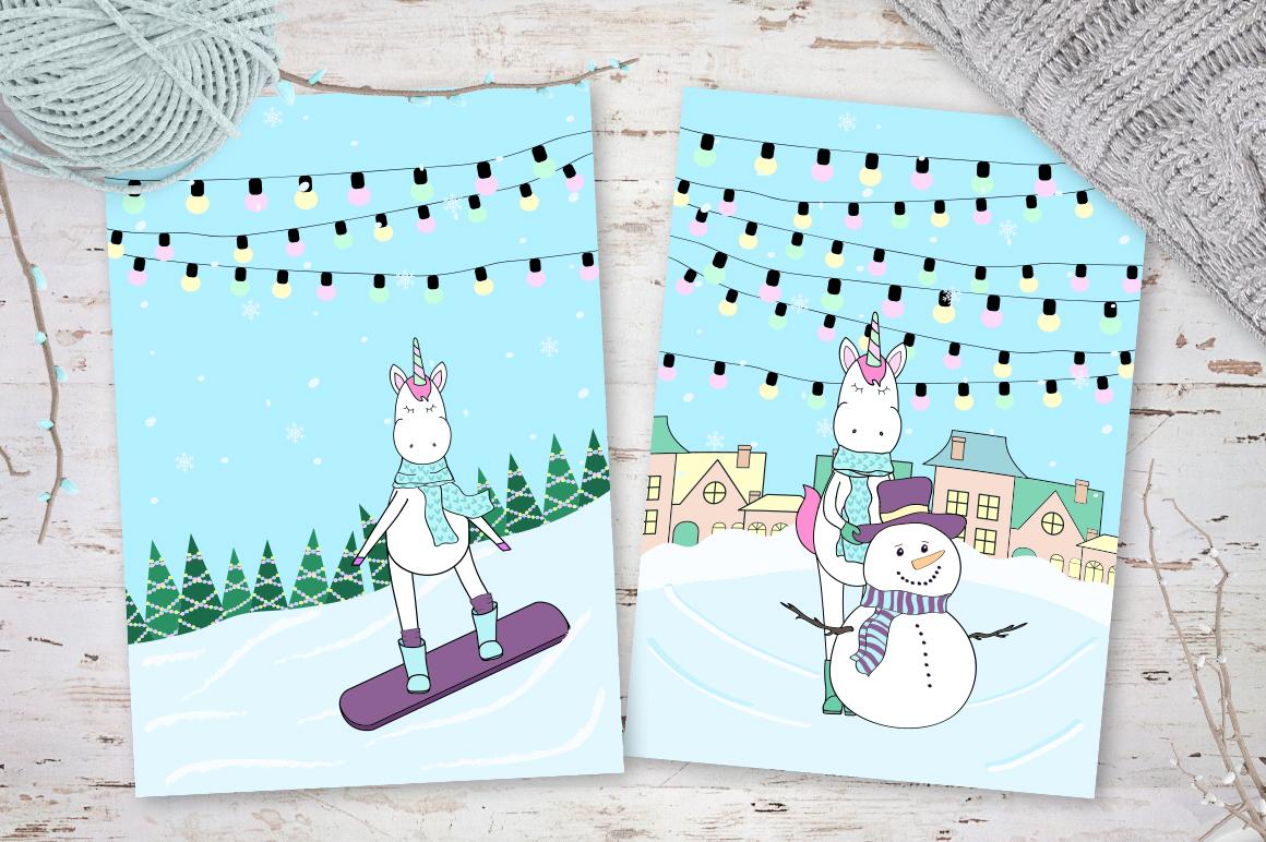 Unicorn's winter  example image 9