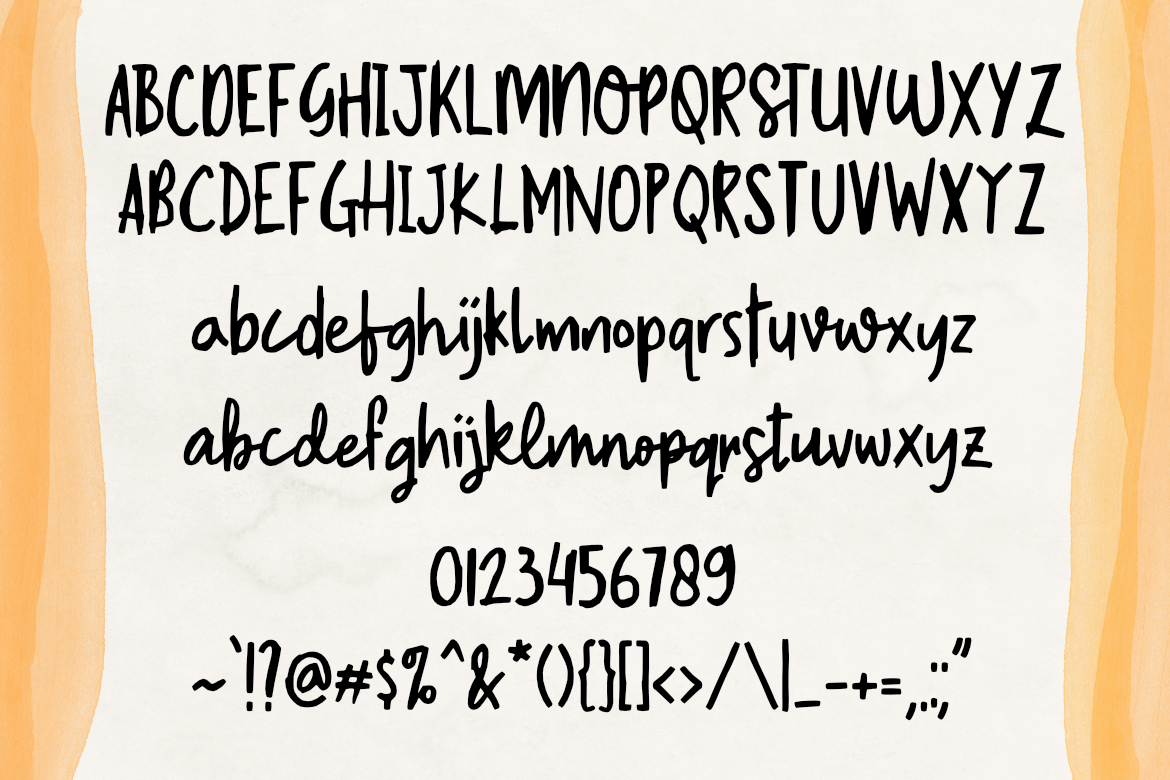 South River Font example image 2