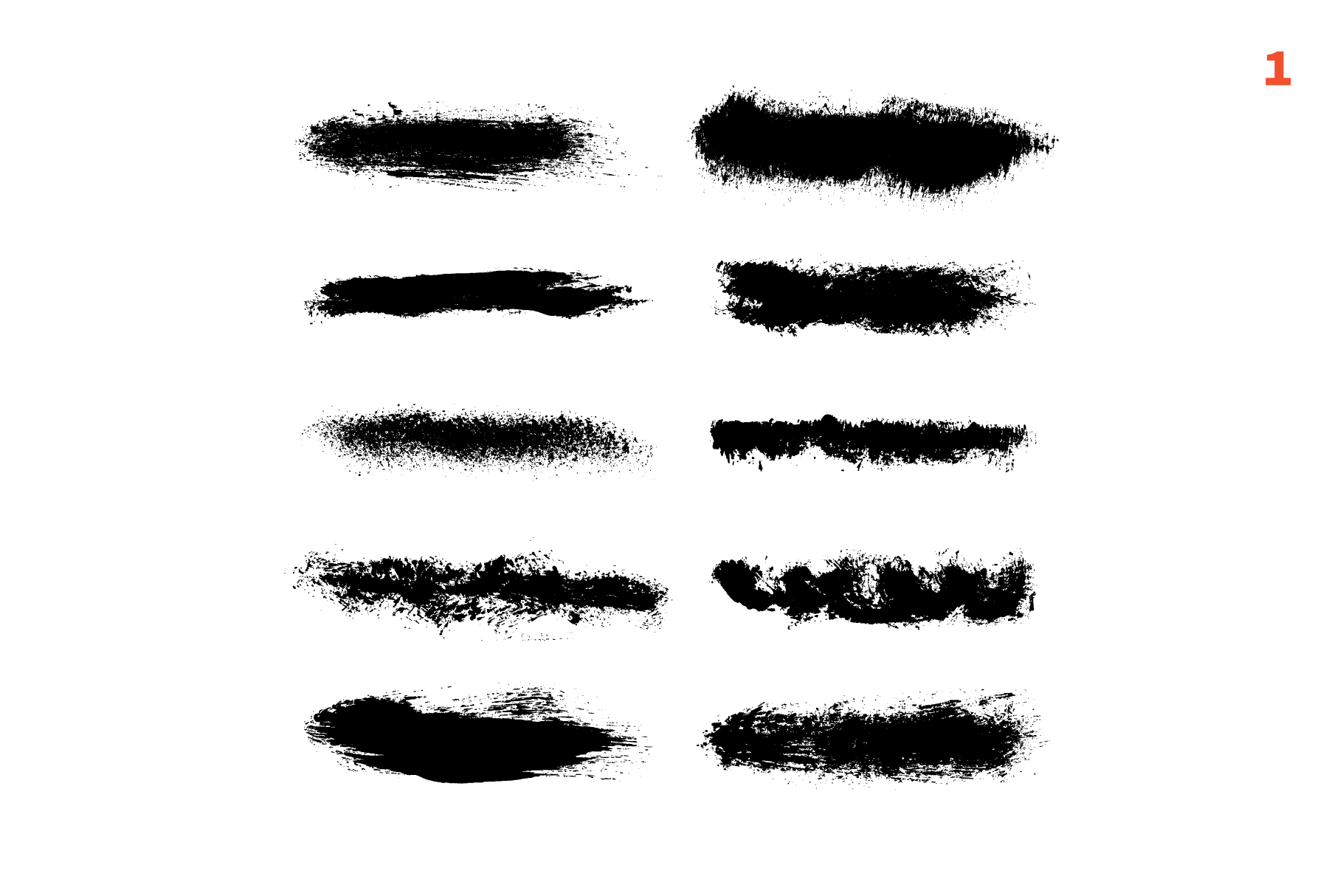 65 template for brushes + 6 seamless patterns example image 2