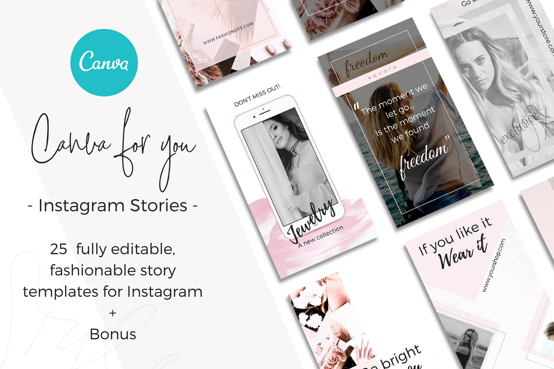 Instagram stories -Style- Shopping example image 1