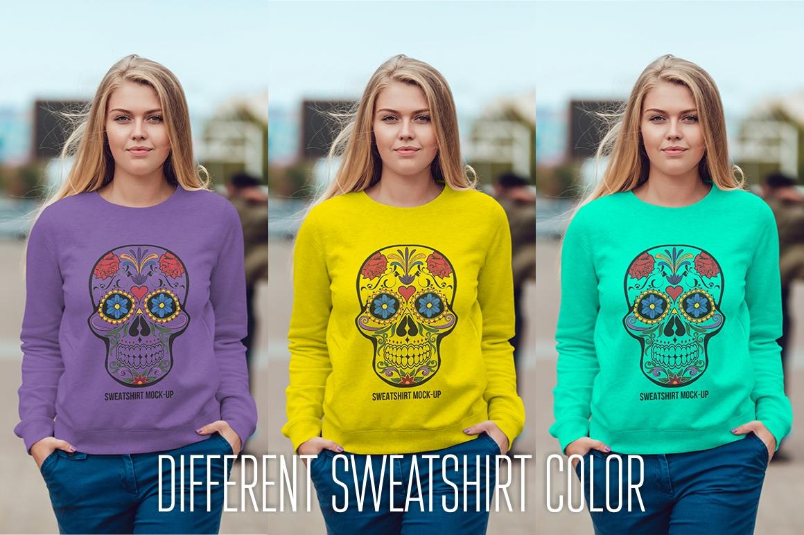 Sweatshirt Mock-Up Vol. 1 example image 11