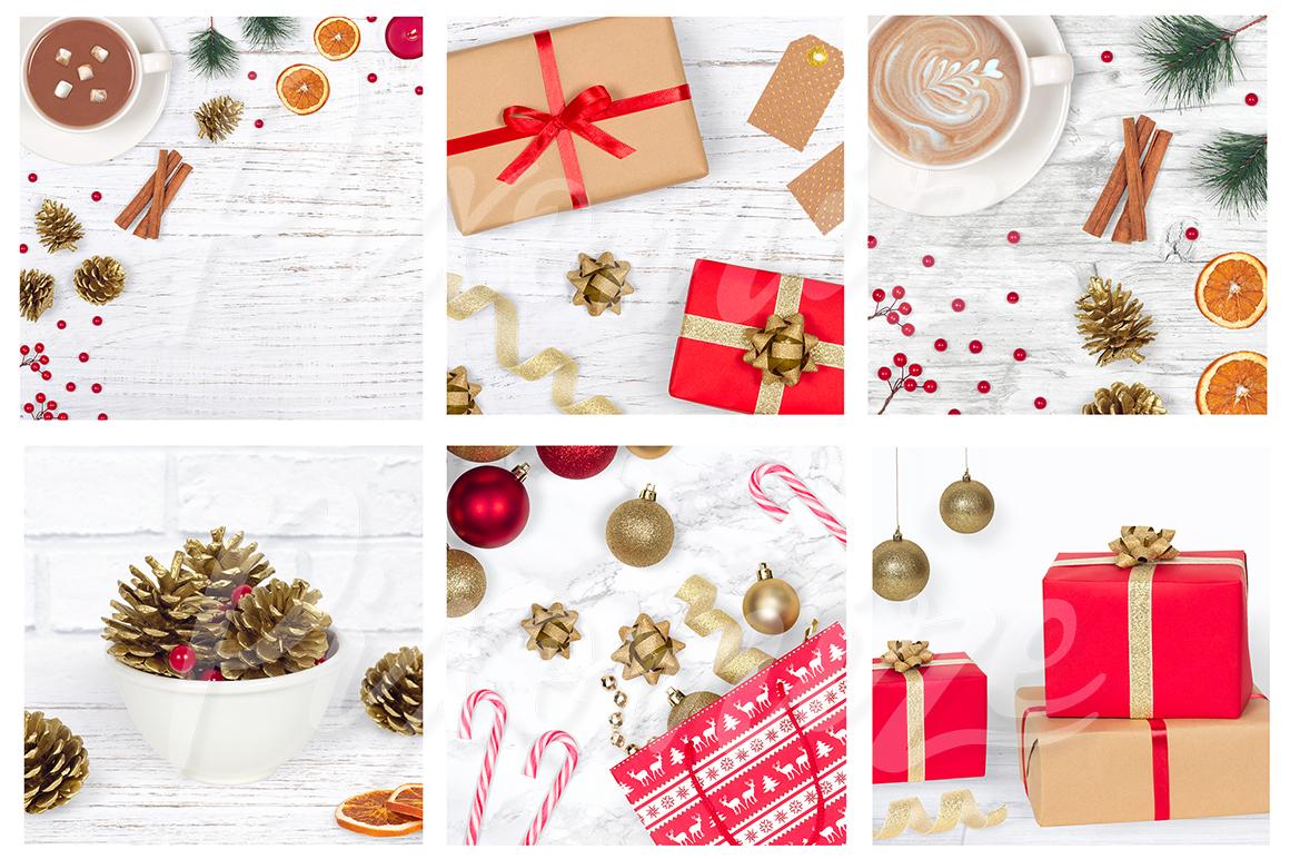 Christmas Styled Stock Photography Bundle example image 2