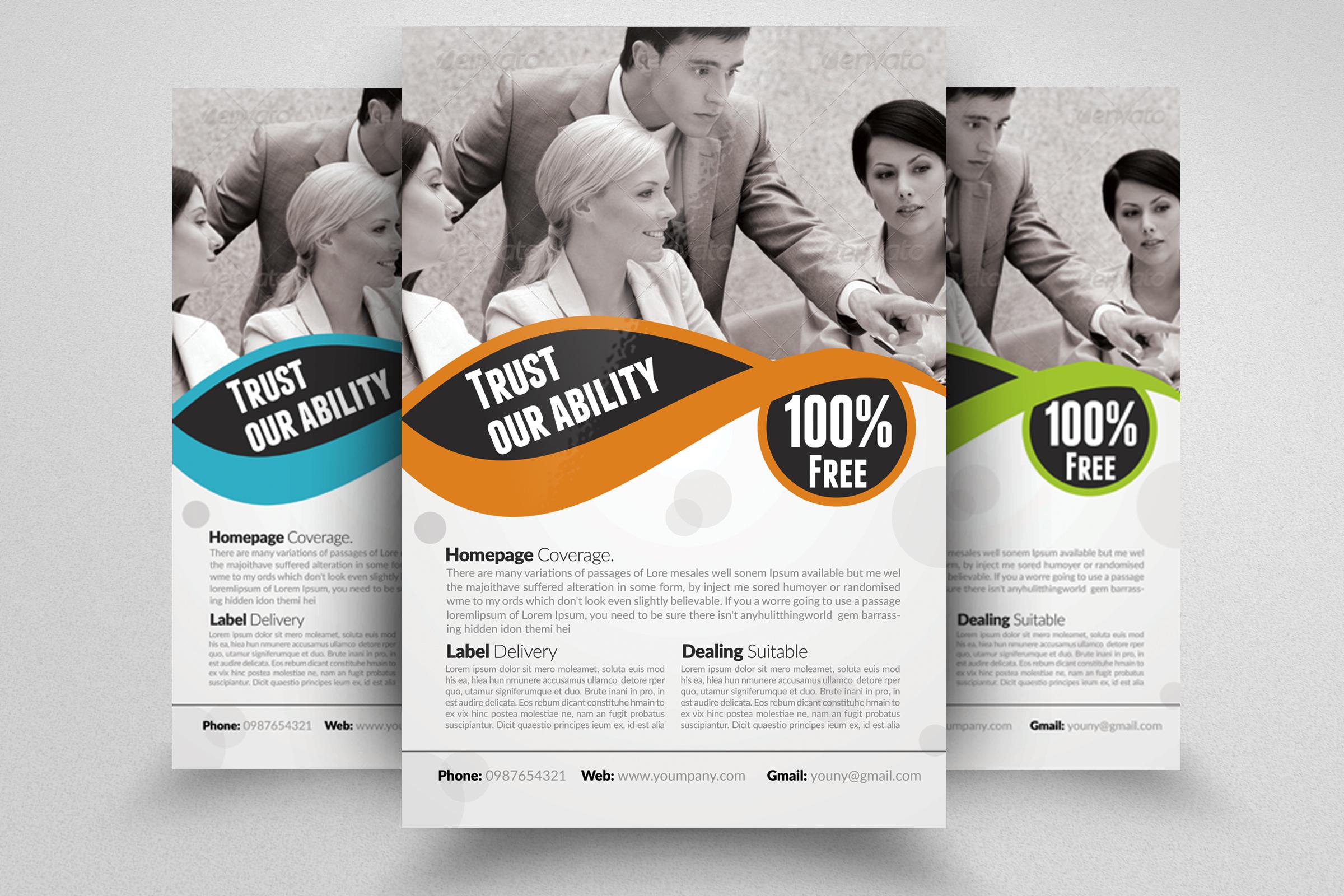 7 Business Flyers Bundle example image 2