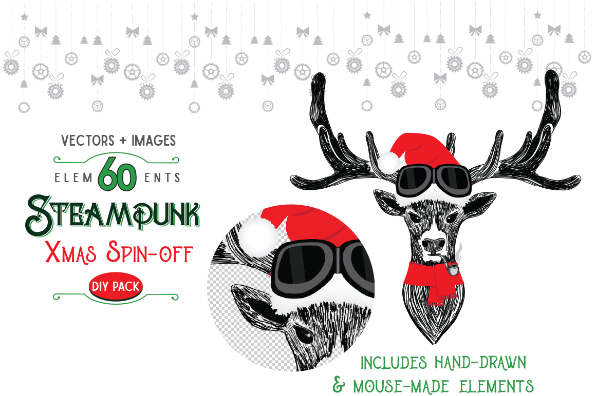 STEAMPUNK XMAS SPIN-OFF example image 2