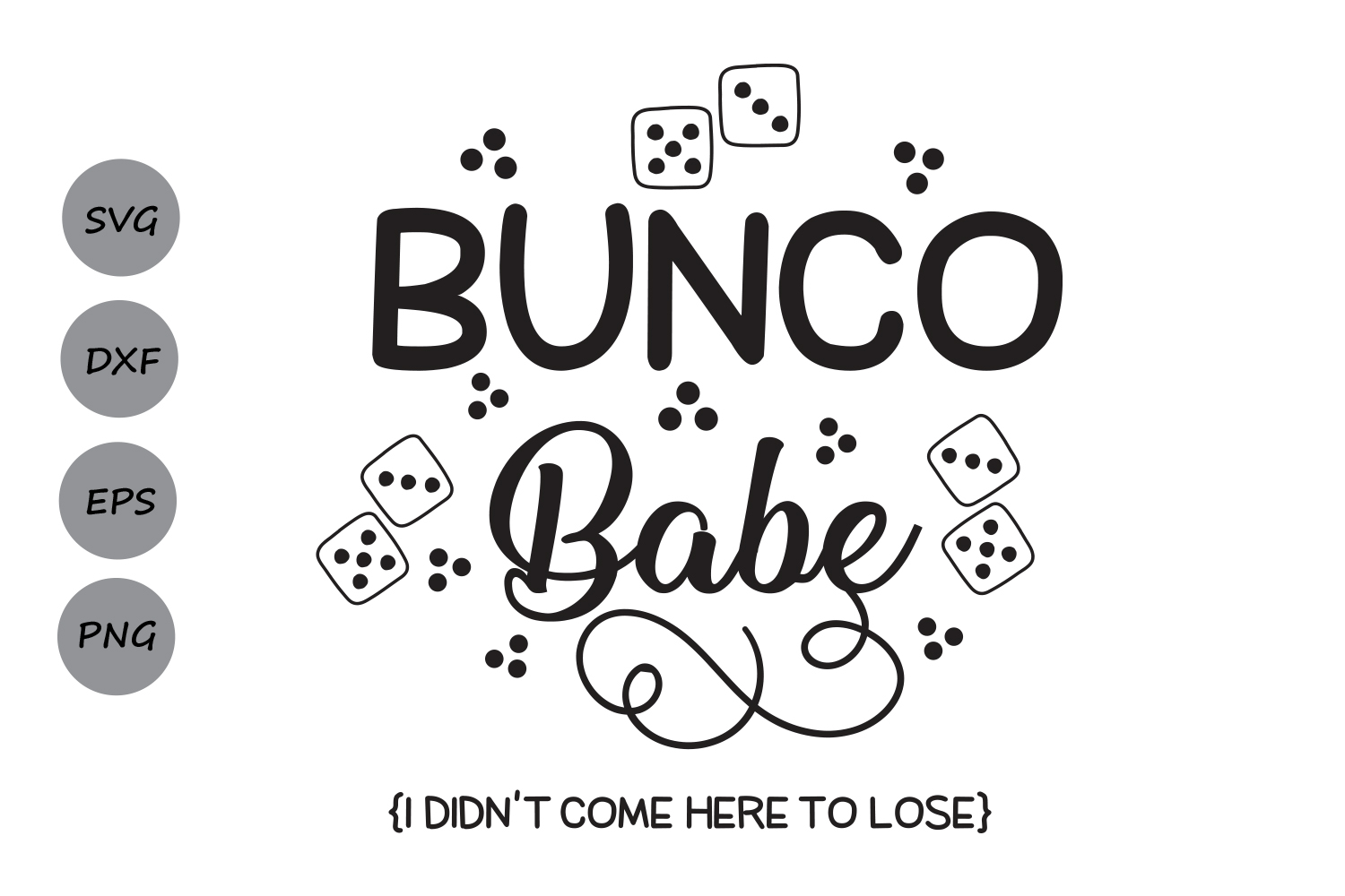 Free Babes Games bunco babe svg, bunco svg, dice svg, bunco game svg, bunco dice, silhouette  cut files, cricut files, svg, dxf, eps, png.
