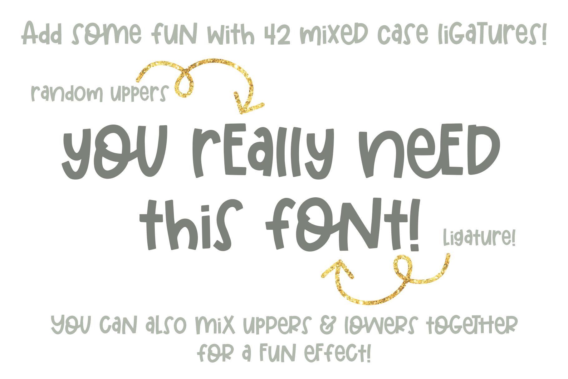 Elementary Font example image 10