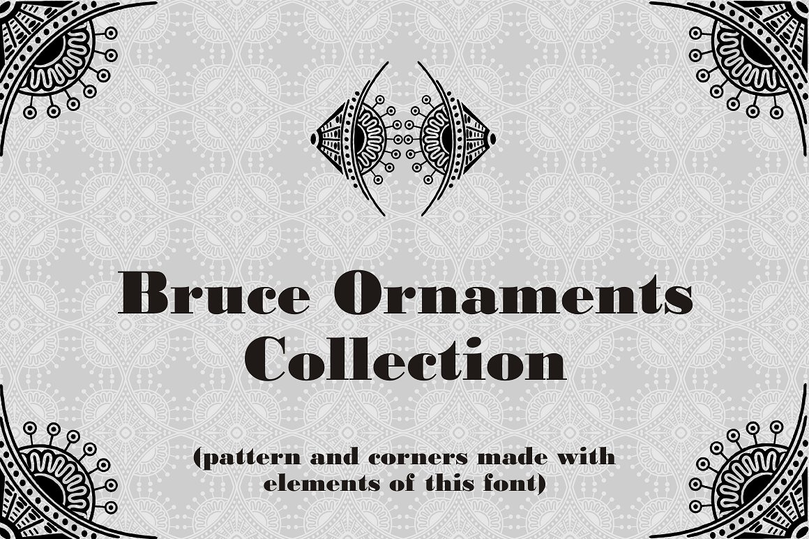 Bruce Ornaments Collection example image 1