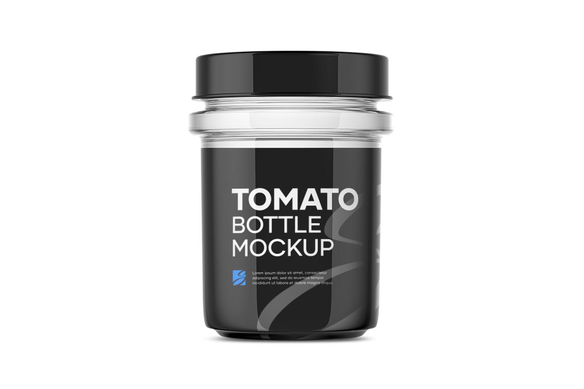 Tomato Bottle Mockup example image 6