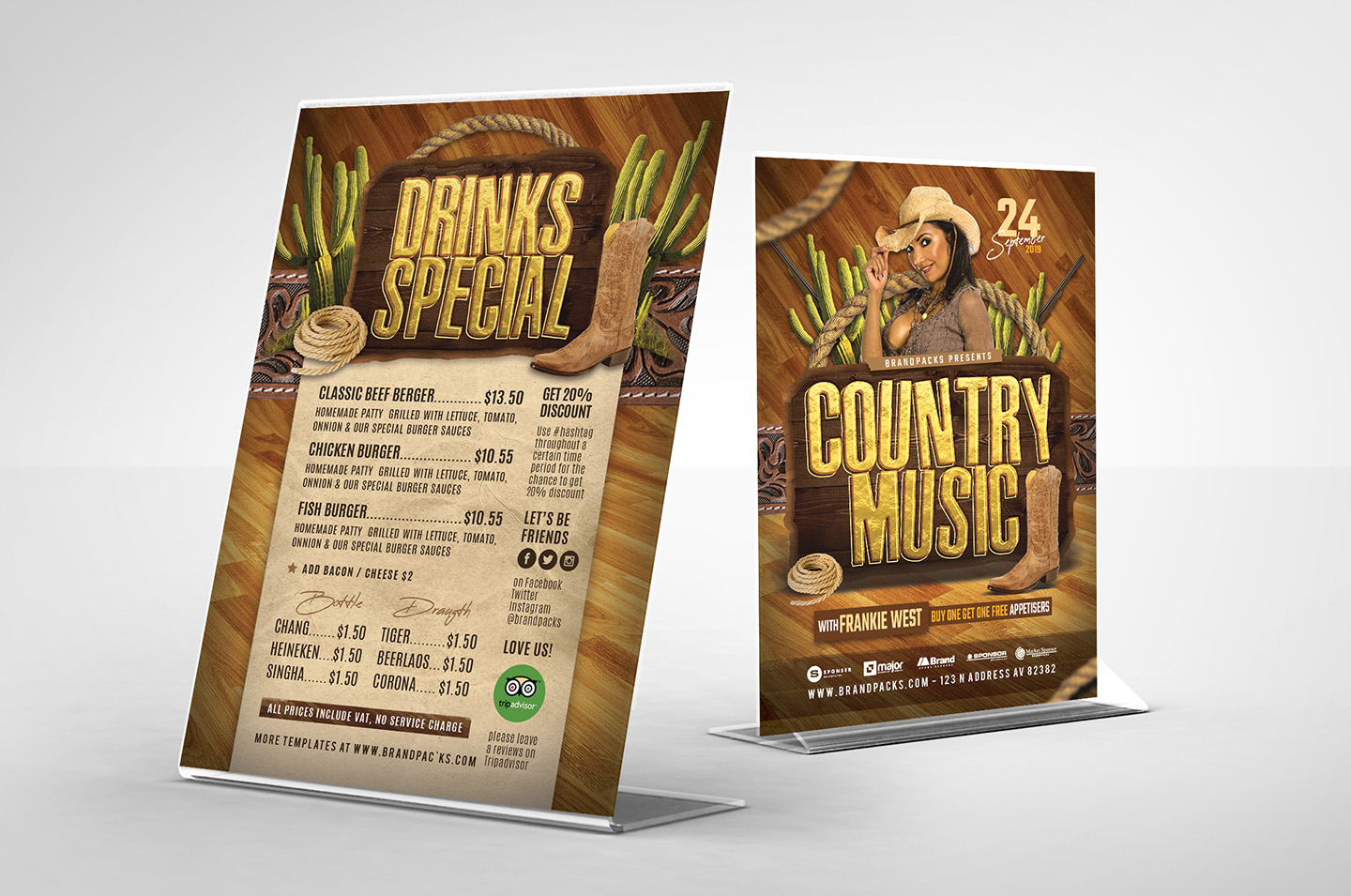 Country Music Flyer Template example image 3