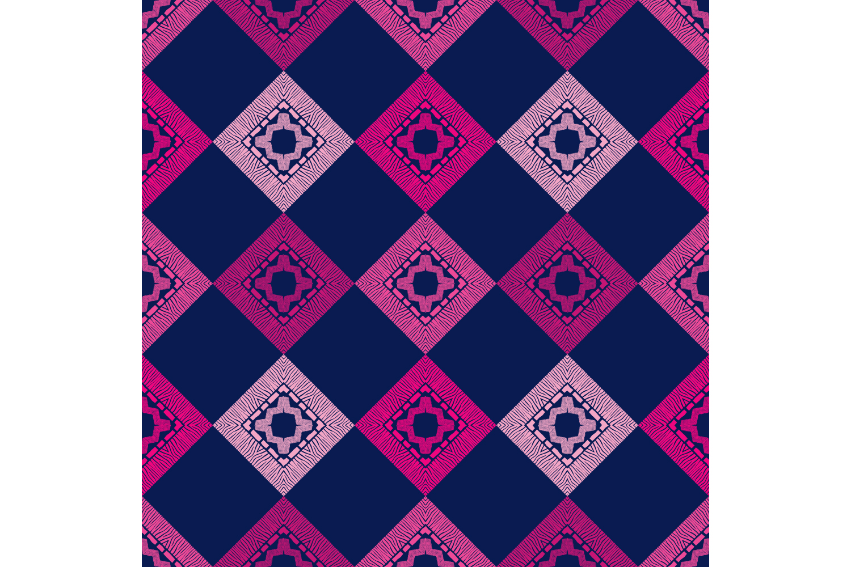 Zebra stripes. Ethnic boho ornament. 10 seamless patterns. example image 6