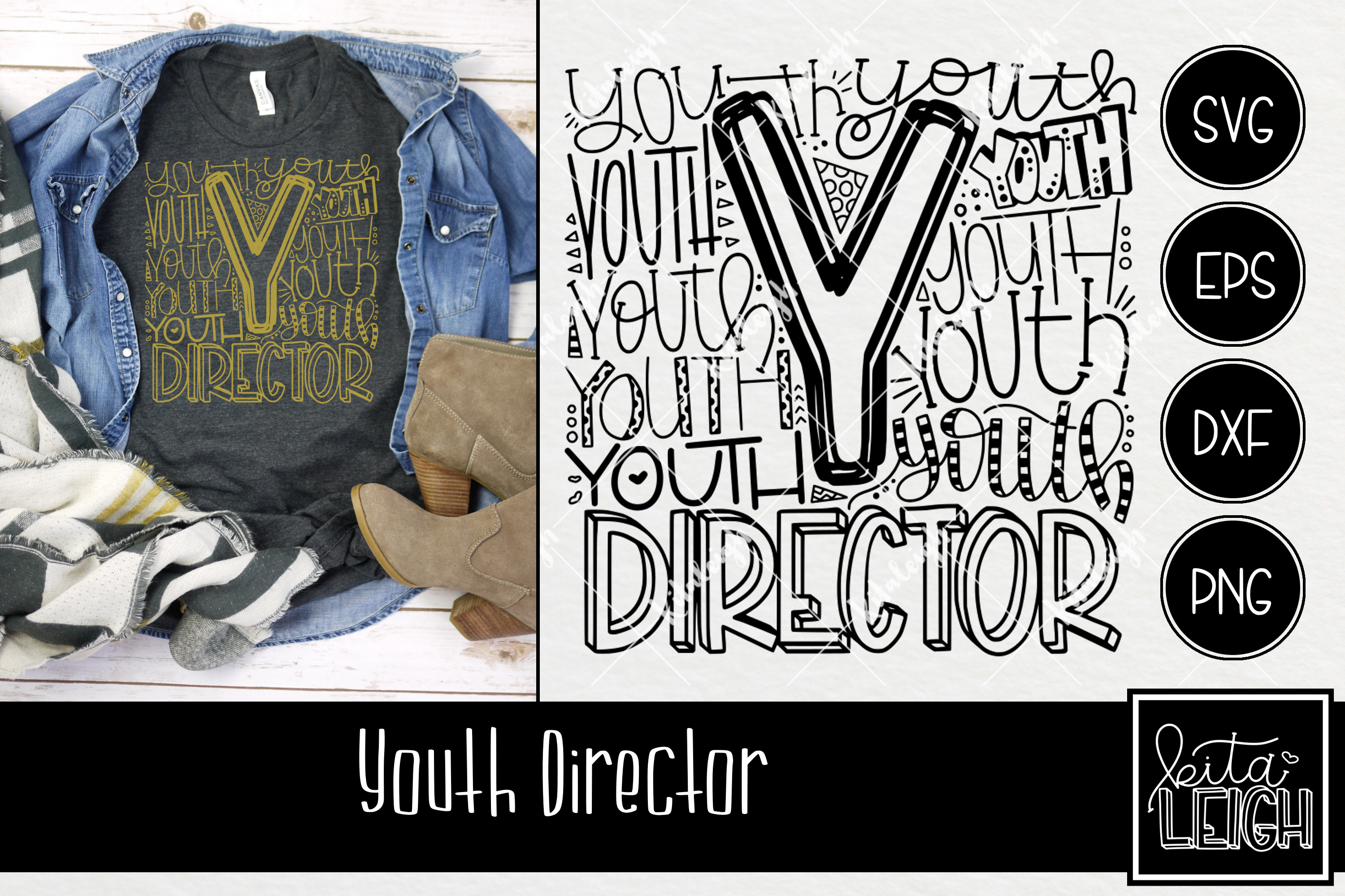 Youth Director Typography example image 1