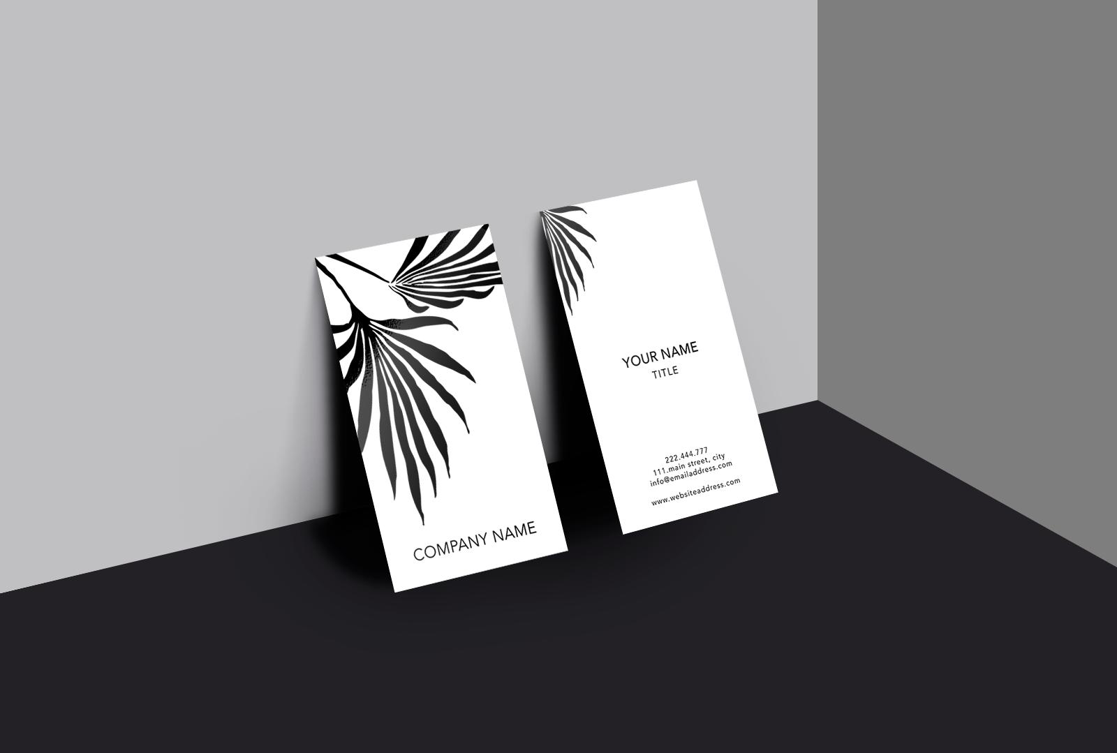 Beautiful art business card example image 2