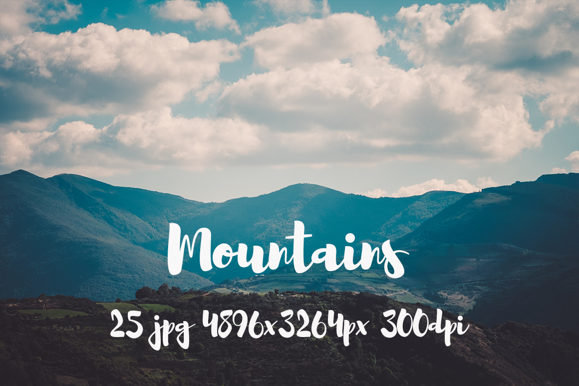 Mountains Pack example image 13